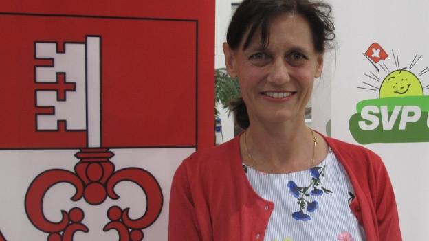 Monika Rüegger, Präsidentin der Obwaldner SVP: Sie tritt an zu den Wahlen in den Nationalrat.
