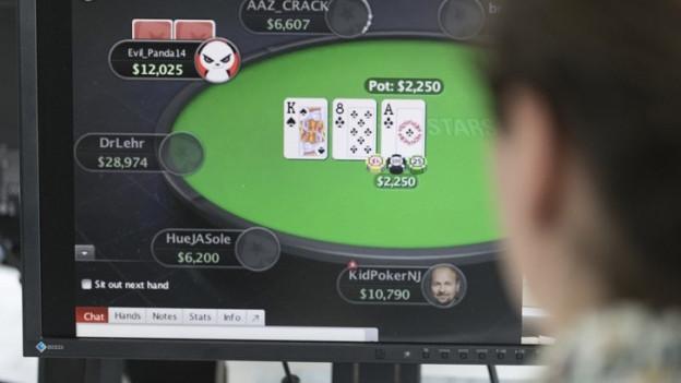 Für legales Online-Poker, Roulette oder Black Jack hat das Casino Luzern Millionen investiert.