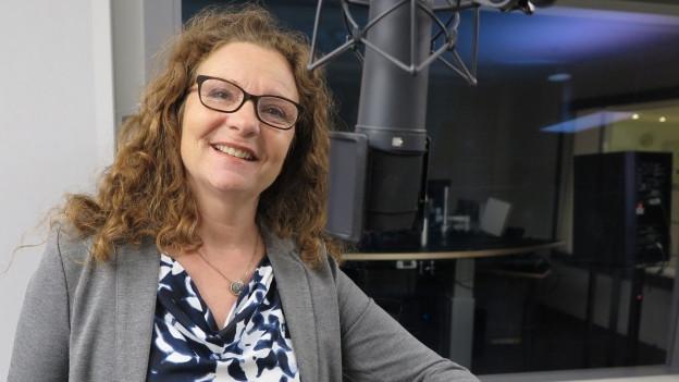Porträt der Luzerner GLP-Politikerin Michèle Graber.