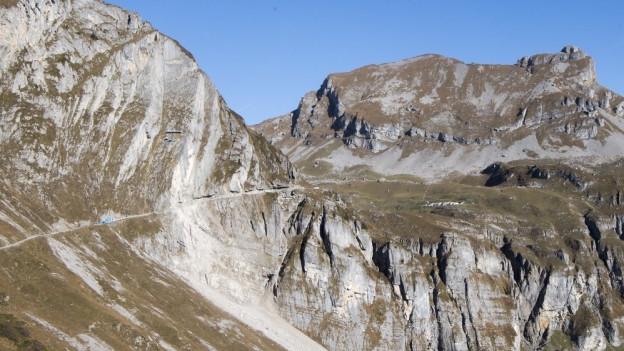 Die Alp Alplen bei Unterschächen soll mit einem Tunnel wieder besser erschlossen werden.