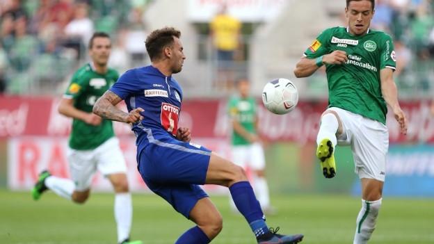 Trotz mässiger Leistung gewinnt der FCL gegen St.Gallen.