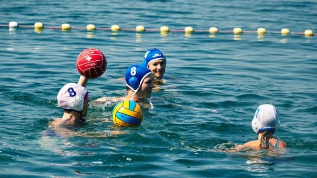 Auch Wassersport ist am Sports Festival vertreten.