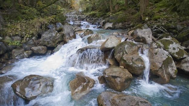Uri verbessert den Hochwasserschutz an Urner Gewässer (Symbolbild)