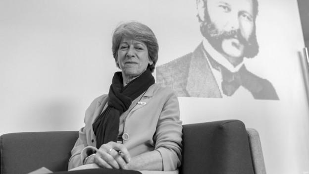 Annemarie Huber-Hotz gab Ende Juni 2019 das Präsidium des Schweizerischen Roten Kreuzes ab.