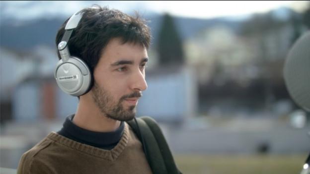 Jungfilmer Dejan Barac: Sein Film wird im Wettbewerb in Locarno gezeigt.