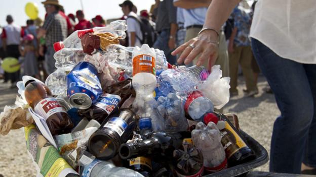 Am ESAF soll der Abfall minimiert werden.