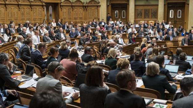 Parlament in Bundesbern