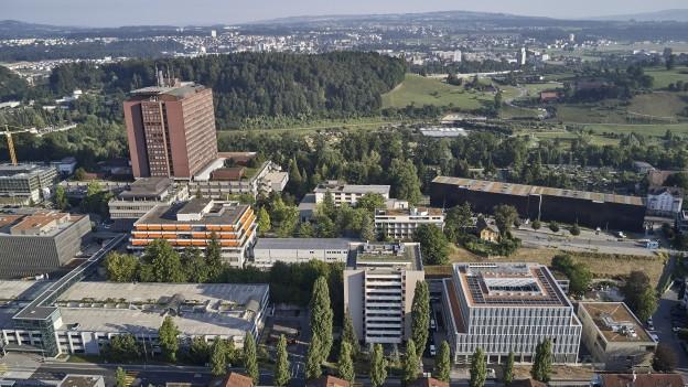 Hier wird einiges anders: Das Areal des Kantonsspitals in Luzern.