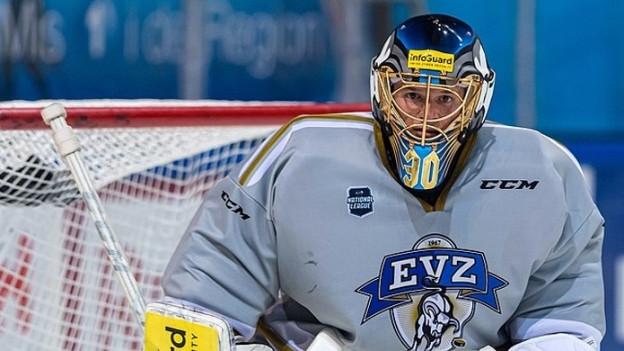 Leonardo Genoni startet mit seinem neuen Club, dem EVZ in die neue Saison.