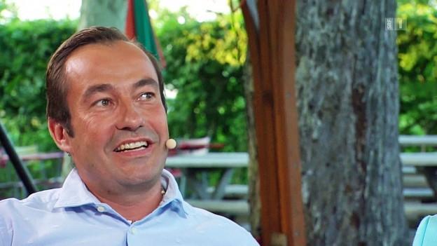 Der Urner FDP-Politiker Matthias Steinegger.