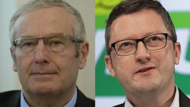 Alois Bissig fordert den bisherigen Nationalrat Peter Keller heraus.