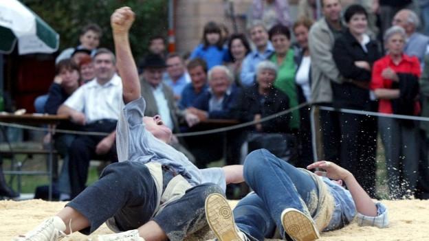 Frauenschwingfest in Menznau: Ein Thema in der Sendung