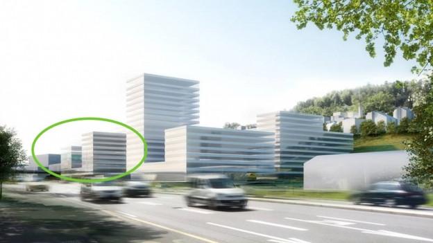 So soll das Sozialversicherungszentrum künftig aussehen.