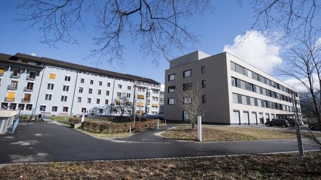 Das Kantonsspital von Obwalden in Sarnen.