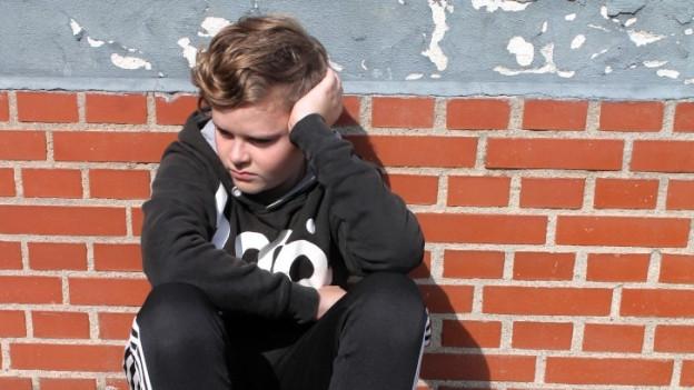 Jugendlicher in einer Krise