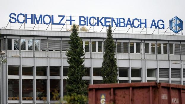 Der Stahlkonzern Schmolz+Bickenbach braucht dringend frisches Kapital