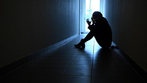 Depressionen können auch Jugendliche betreffen (Symbolbild).
