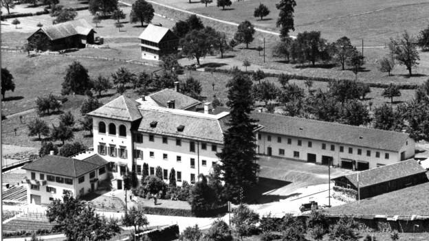 Ansicht der Anstalt Kaltbach