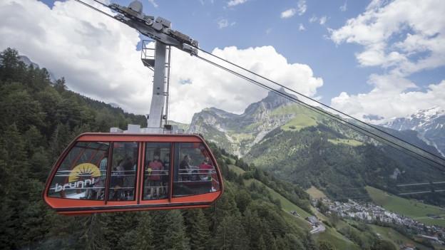 Die Brunni-Bahnen in Engelberg hatten erstmals mehr Gäste im Sommer als im Winter.