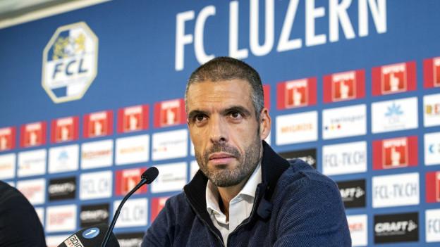 Der neue FCL-Trainer Fabio Celestini.