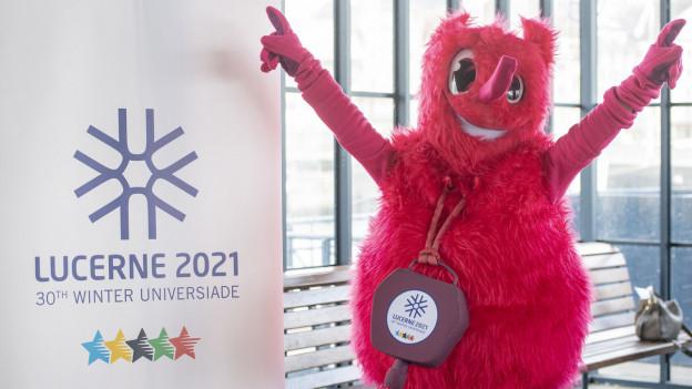 Das Maskottchen für die Universiade 2021