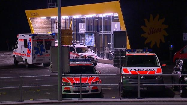 Grossaufgebot der Rettungskräfte auf dem Stoos.