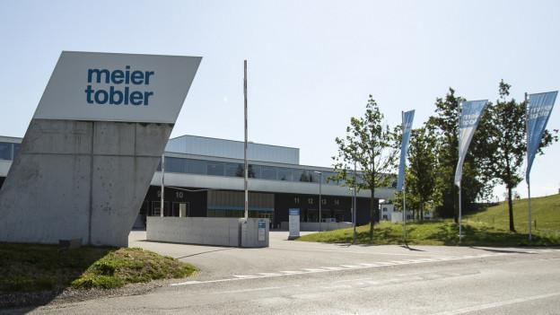 Ansicht des Firmensitzes von Meier Tobler in Nebikon