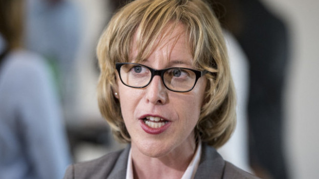 Barbara Gysel, Präsidentin der Zuger SP.