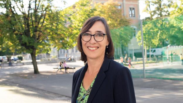 Die SP-Kandidatin Judith Dörflinger
