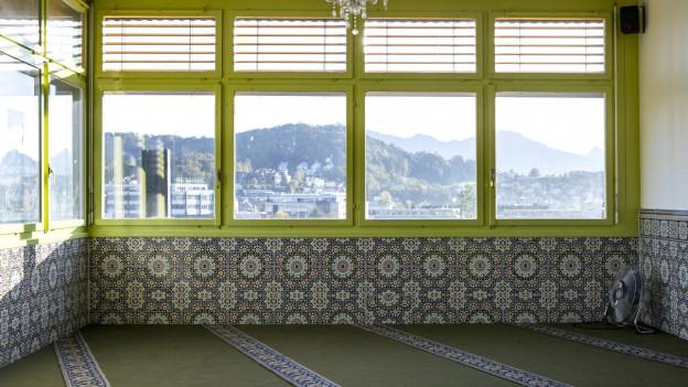 Blick in eine Moschee