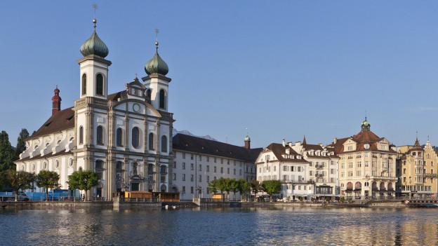 Jesuitenkirche in Luzern