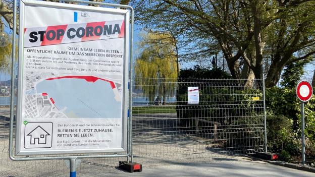 Als Vorsichtsmassnahme wurden Seepromenaden und öffentliche Plätze gesperrt.