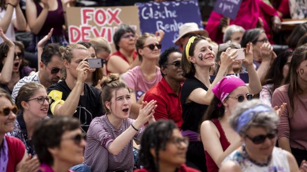 Wir schauen zurück: Ein Jahr nach dem zweiten Frauenstreik.