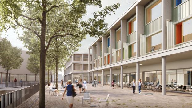 Das Siegerprojekt für das neue Kinderspital und die Frauenklinik