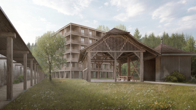 Endlich kann das Kloster sein Wohnhaus realisieren.