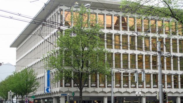 Die Luzerner Kantonalbank darf ihr Gebäude aufstocken.