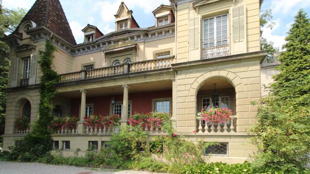 Die Villa Auf Musegg 1 in der Stadt Luzern.