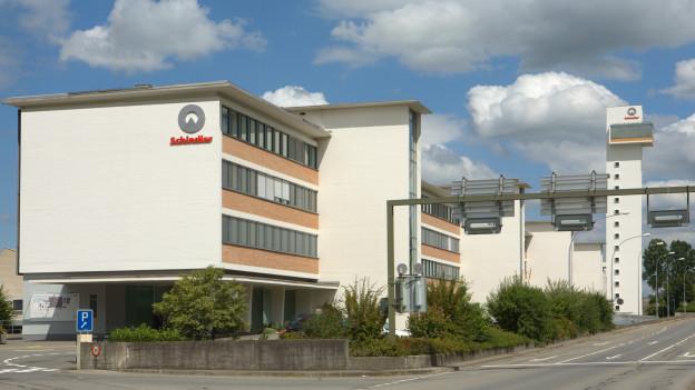 Hauptsitz des Liftbauers Schindler in Ebikon.