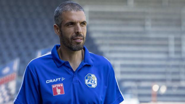 «Wir geben alles – im Fussball ist alles möglich» FCL-Trainer Fabio Celestini glaubt an den Erfolg.