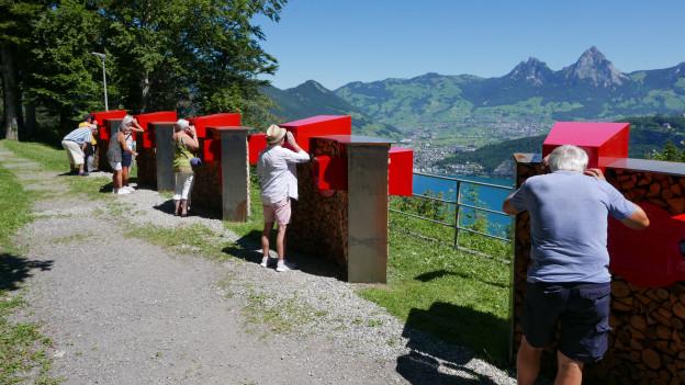 Die Geschichtsreise bietet spektakuläre Aussicht und befasst sich mit den Gründungsmythen der Schweiz.
