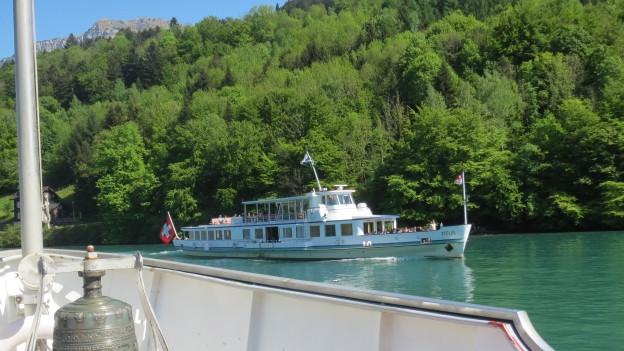 Das Motorschiff Titlis