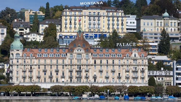 Das Hotel Europe in Luzern macht Beschwerde gegen die neue Tourismuszone