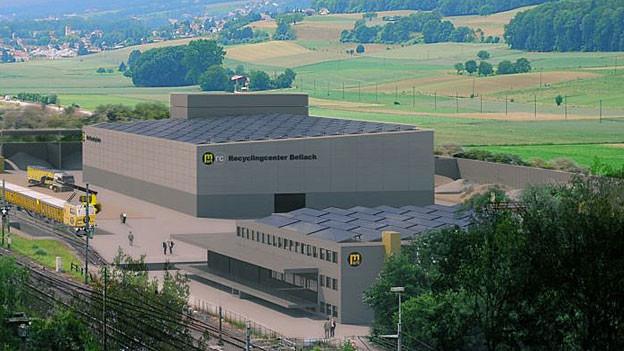 Das geplante Bodenrecycling-Center in Bellach: In dieser Form wird es nicht realisiert
