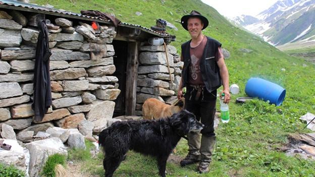 Der Thurgauer Schafhirte im Wallis ist jetzt arbeitslos.