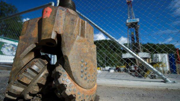 Der Bohrkopf beim Geothermie-Projekt in St. Gallen steht still.
