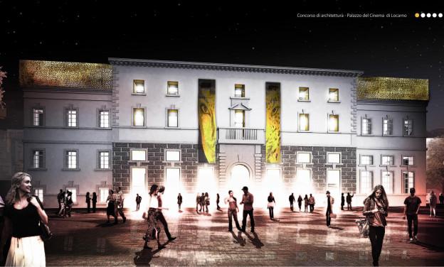 Das Siegerprojekt für den neuen Filmpalast in Locarno