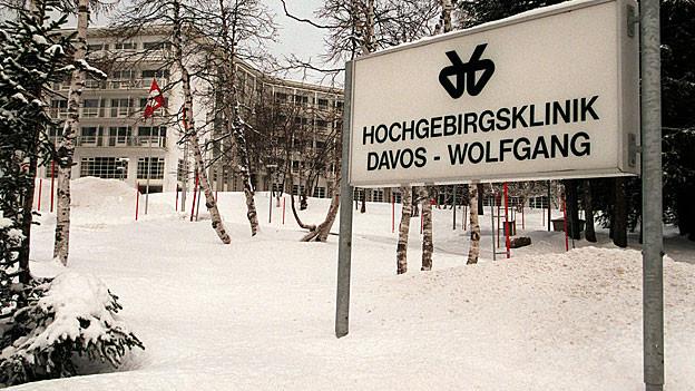 Steht vor dem Aus: Die Hochgebirgsklinik in Davos