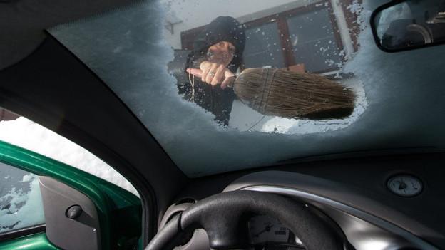 Die Wetterprognosen haben Schnee angekündigt, dennoch wurden viele Menschen überrascht.