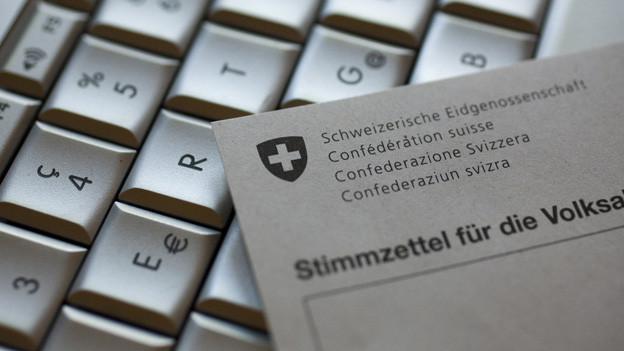 E-Voting in der Schweiz - Graubünden will vorwärts machen