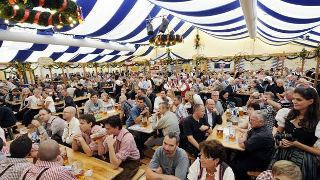 Das Zürcher Oktoberfest: Auch die Zürcher Sittenpolizei soll hier gefeiert haben.